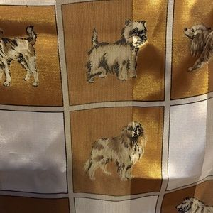 Dog Lover Scarf Long Lightweight with Shimmer